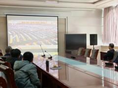 寿光市蔬菜高科技示范园管理处、菜博会组委办组织收听收看庆祝改革开放40周年大会